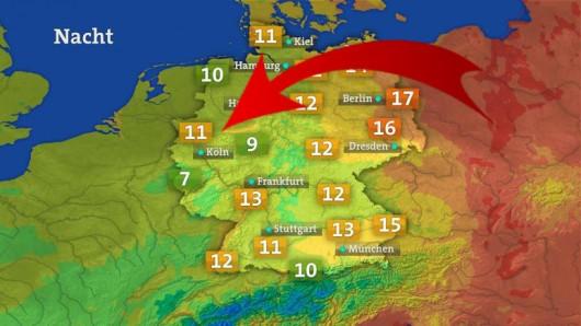 Der Bochumer hat eine verrückte Idee, wie die Wetterkarte aussehen sollte.