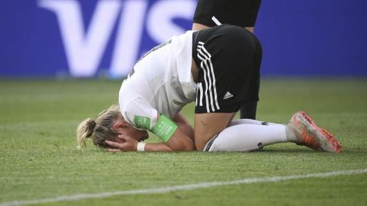 Deutschland am Boden! Die Frauen sind bei der WM frühzeitig im Viertelfinale gegen Schweden ausgeschieden.