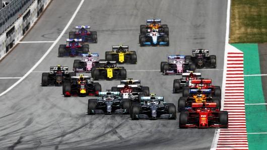 Max Verstappen verbockte den Start beim Großen Preis von Österreich komplett.