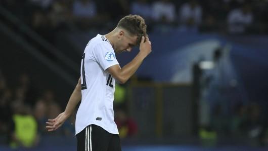 Deutschland unterliegt Spanien im U21-EM-Finale mit 2:1 (1:0).