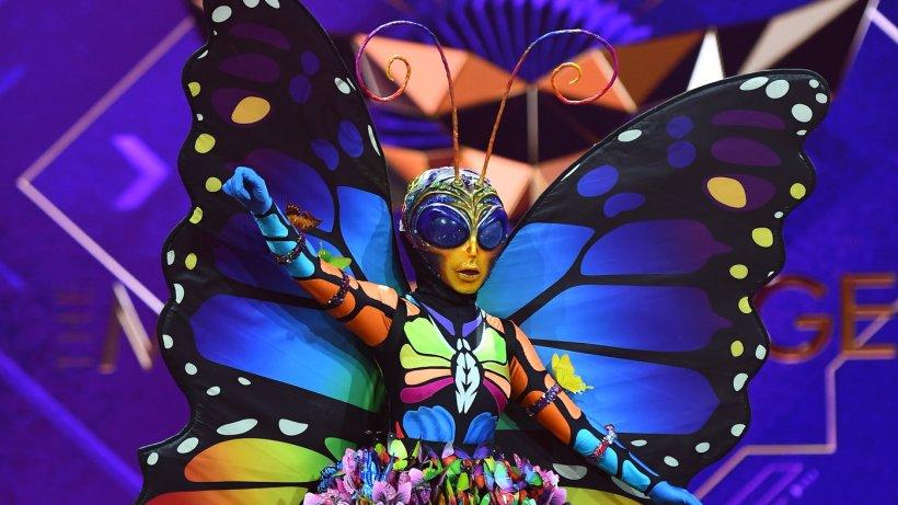 Schmetterling Masked Singer