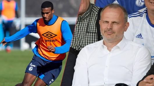 Sportvorstand Jochen Schneider formt den Schalke-Kader. Nächster Abgang: Haji Wright.