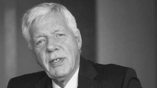 Der ehemalige Bundeswirtschaftsminister und Manager Werner Müller ist tot.