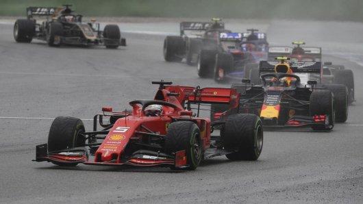 Formel 1: Sebastian Vettel machte bei schwierigen Bedingungen am Hockenheimring sensationelle 18 Plätze gut!