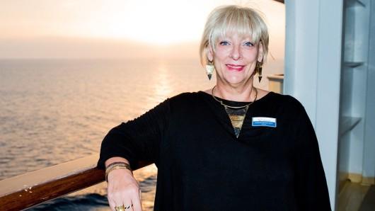 Dagmar Bock ist seit dieser Woche wieder auf hoher See.