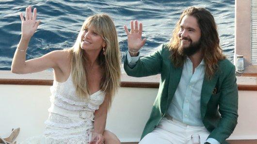 Heidi Klum und Tom Kaulitz haben auf Capri geheiratet.