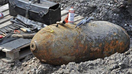 Solch eine 500-Kilo-Bombe ist am Mittwoch in Essen gefunden worden. (Archivbild)