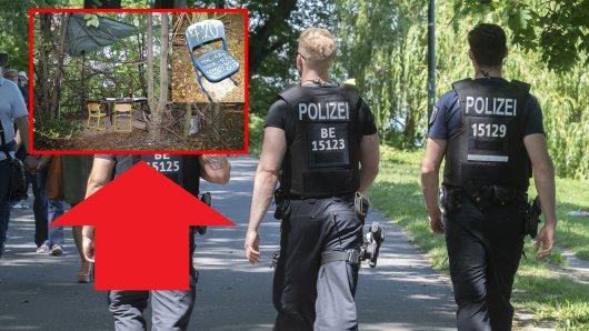 Die Polizei hat einen Drogendealer auf frischer Tat ertappt.