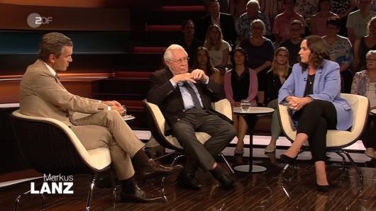 Markus Lanz (ZDF): Bernhard Vogel, Thüringens Ex-Ministerpräsident, war zu Gast in der Sendung.