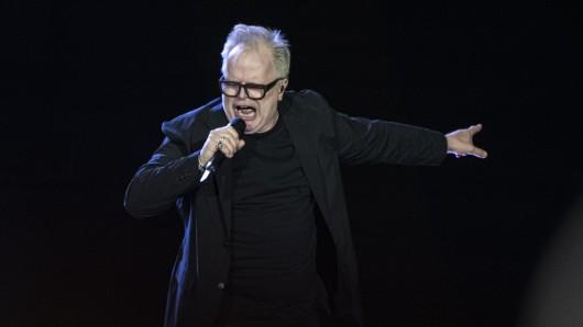 Herbert Grönemeyer wird für eine Rede beim einem Konzert in Wien stark kritisiert.