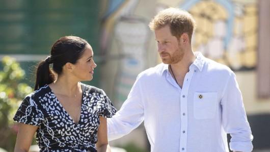 Royals: Meghan Markle und Prinz Harry brechen eine weitere Tradition.