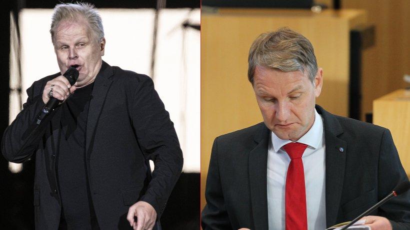 """Herbert Grönemeyer fügt Björn Höcke empfindliche Niederlage zu: """"Schlicht unwahr"""""""