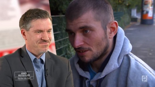 """""""Hartz 4""""-Empfänger Dennis  aus Köln schockt die Experten."""