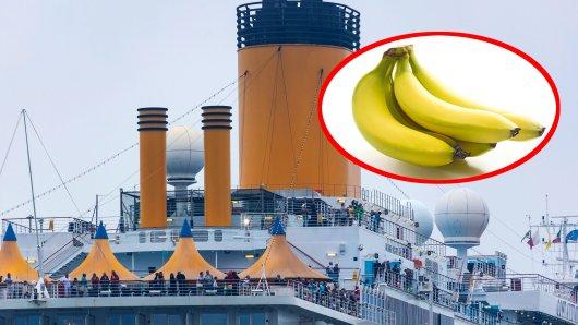 """Wenn du mitbekommst, dass man dich auf einer Kreuzfahrt als """"Banane"""" bezeichnest, hast du einen Fehler gemacht. (Symbolbild)"""