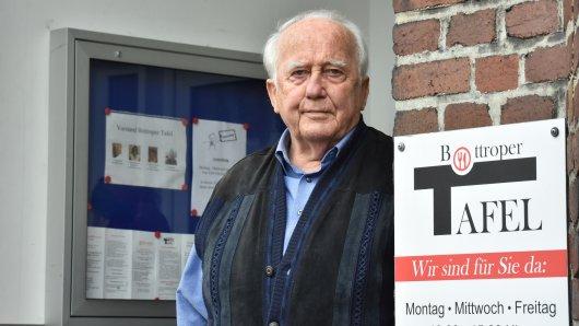 Dieter Kruse ist der 1. Vorsitzende der Tafel in Bottrop.
