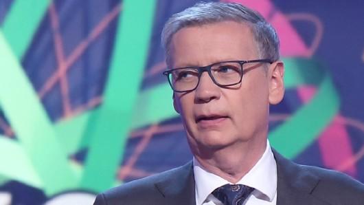 """""""Wer wird Millionär"""": Günther Jauch würde sich gut in der Politik machen, findet ein Bundesminister."""