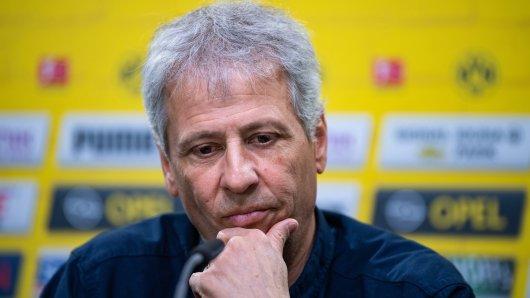 Borussia Dortmund: Trainer Lucien Favre möchte nach vorne schauen.