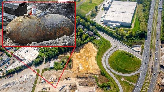 In Essen-Kray ist neben der A40 eine Bombe aus dem Zweiten Weltkrieg gefunden worden. (Archivbild)