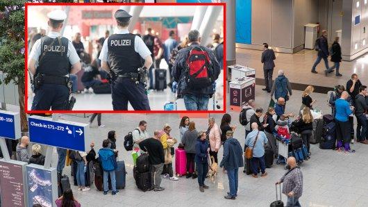 Am Flughafen Düsseldorf ging der Polizei ein Mörder ins Netz. (Symbolbild)