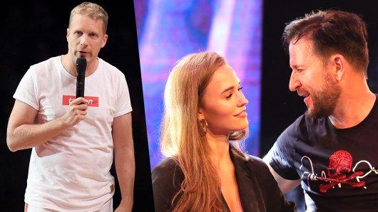 Oliver Pocher konnte sich bei Let's Dance in Oberhausen einen Seitenhieb gegen Michael Wendler und seine Laura nicht verkneifen.