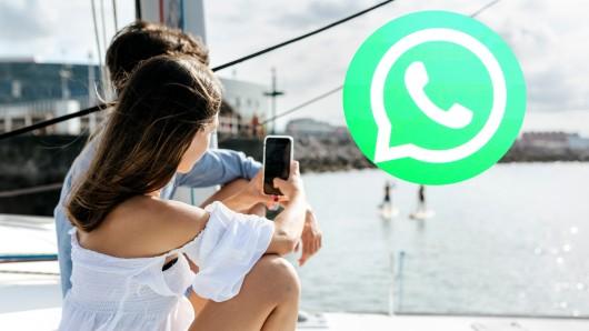 Per Whatsapp hat eine junge Frau Urlaubsgrüße verschickt. (Symbolbild)