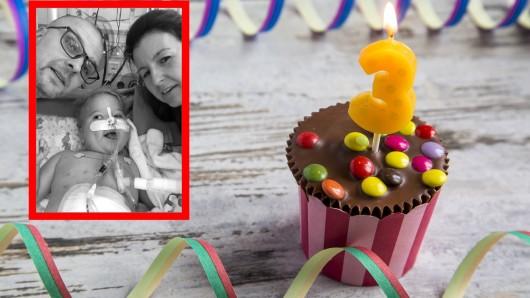 Seinen dritten Geburtstag feierte die Familie im Herzzentrum Berlin.