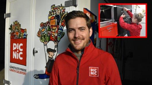 Mitgründer Frederic Knaudt hat in Essen diese Woche den zehnten Standort eröffnet.