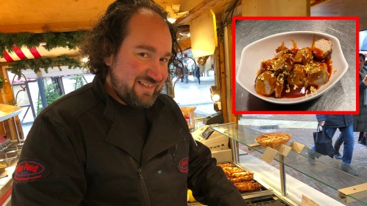 Oliver Müller bietet gerne ausgefallene Speisen in Essen an.