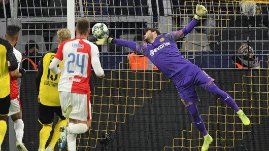 Roman Bürki hielt Borussia Dortmund in der Champions League.
