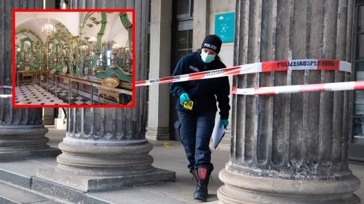 In Dresden wurden Juwelen geraubt. Die Polizei bittet vor allem Touristen um Hinweise.