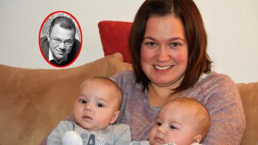 Andrea Sobolewski aus Duisburg bekam Zwillinge. Sechs Wochen später wird ihr Ehemann aus dem Leben gerissen.
