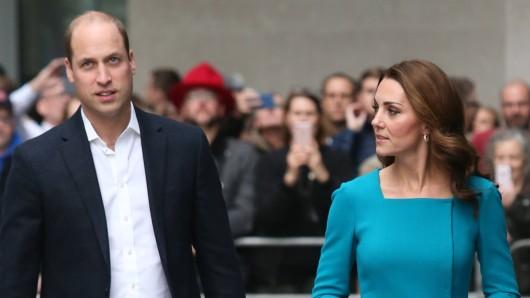 Kate Middleton und Prinz William berühren sich in der Öffentlichkeit kaum.