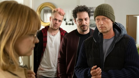 Tatort: Nick (Til Schweiger), Yalcin (Fahri Yardim) und  Tom (Ben Münchow).