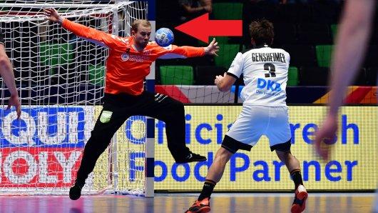 Handball-EM 2020: Beim Spiel Deutschland - Niederlande gab es einen großen Aufreger.