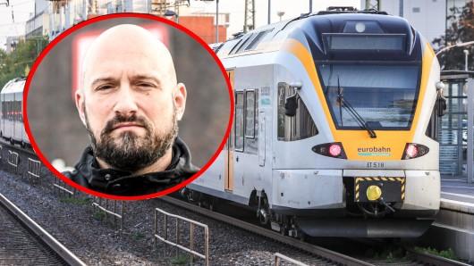 Serodio da Conceicao wollte auf eine Zugtoilette gehen. Unfassbar, was der Zugführer daraufhin tat.