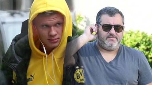 Mino Raiola ist der Berater von BVB-Star Erling Haaland.