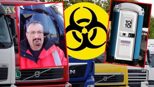 Wegen des Coronavirus haben es zahlreiche Lkw-Fahrer mit teils unmenschlichen Bedingungen zu tun.