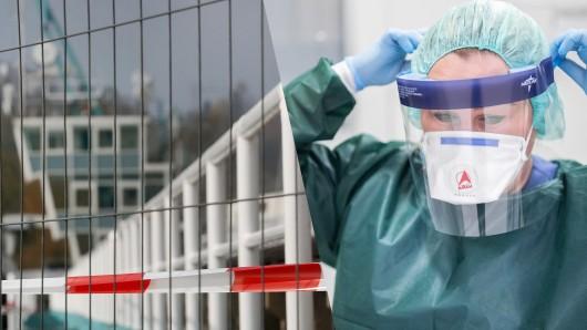 Corona in NRW: Beliebte Ausflugsziele wie der Baldeneysee sind teils abgesperrt, Kliniken arbeiten am Anschlag.