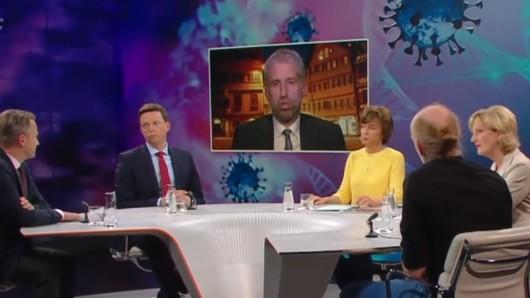 """Boris Palmer war der ZDF-Talkshow """"Maybrit Illner"""" zugeschaltet."""