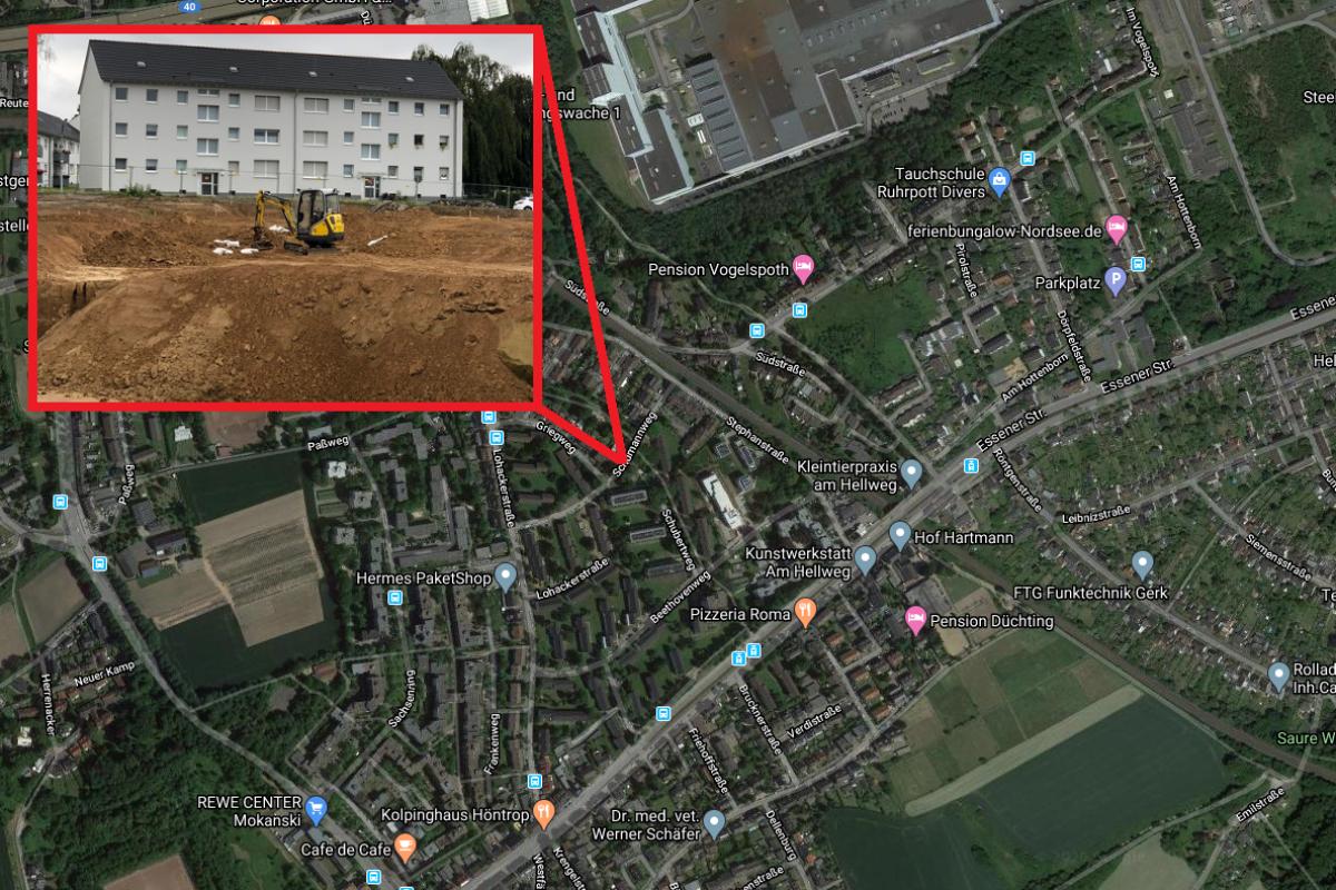 Bochum: Neun Granaten in Wohngebiet entdeckt – Sprengung beginnt!