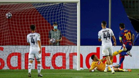Barca gegen Neapel im Live-Ticker: Messi zaubert mal wieder.