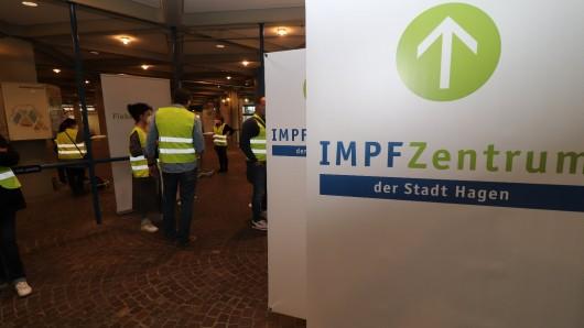 Das neue Impfzentrum in Hagen