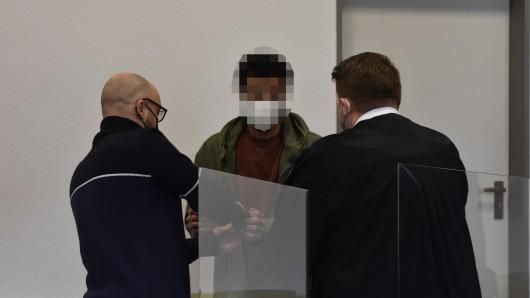 Rashwan K. steht am Mittwoch vor dem Duisburger Landgericht.