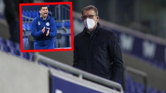 Schalke 04: Peter Knäbel verpflichtete Dimitrios Grammozis. Er hatte ihn eher zufällig entdeckt.