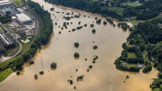 Bochum: Das Hochwasser hat auch die Ruhrgebietsstadt getroffen.