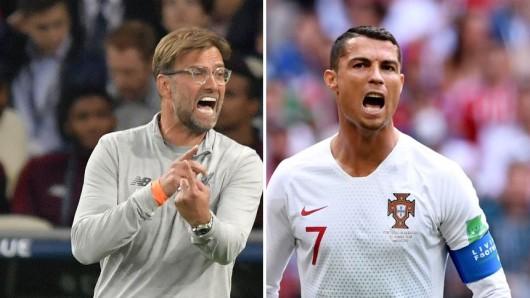 FIFA Weltfußballer und FIFA Welttrainer 2018: Jürgen Klopp und Cristiano Ronaldo befinden sich unter den Nominierten.