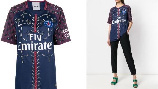 Paris Saint-Germain und das Modelabel Koché bieten Trikots für mehrere tausend Euro an.