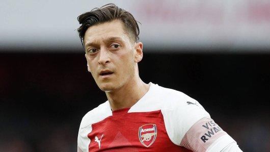Mesut Özil wurde in England scharf kritisiert.