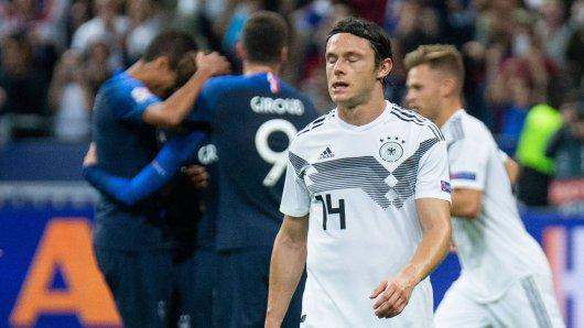 Deutschland verliert in Frankreich und steht vor dem Abstieg in der UEFA Nations League.