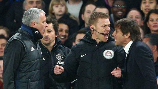 Wenn der FC Chelsea auf Manchester United trifft, geht es schon heiß her.